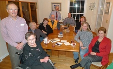 RPCVs gather at the December 2012 monthly meeting
